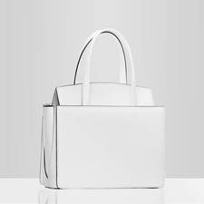 White flag  small tote